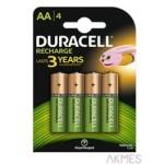 Akumulatorek AA 2400mAh B4 (4)DURACELL