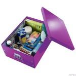 Pudełko uniwersalne A3 fioletowy