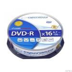 DVD-R ESPERANZA 4,7GB x16 - Cake Box 10