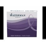 Naboje WATERMAN fiol.krótk.(6)