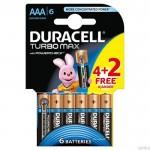 Bateria Turbo AAA/LR03 K4+2 DURACELL