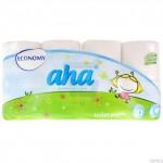 Papier toaletowy AHA ECONOMY (8)biały