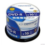 DVD-R ESPERANZA 4,7GB x16 - Cake Box 50