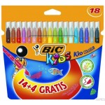 Flamastry 14+4 KID COULEUR BIC