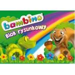 Blok rysunkowy BAMBINO A4 20kartek UNIPAP *1574