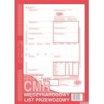 CMR międzynarodowy list przewozowy MICHALCZYK I PROKOP A4 80 kartek