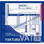 Faktura VAT MICHALCZYK I PROKOP 2/3 A4 81 kartek