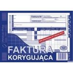 Faktura VAT korygująca MICHALCZYK I PROKOP A5 80 kartek