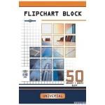 Blok do flipchartów tablic INTERDRUK gładki 100x64cm 50 kartek