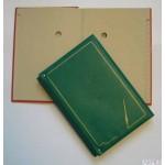 Teczka do podpisu z harm 20 kart z identyfiktorem bocznym zieleń Warta