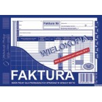 Faktura VAT MICHALCZYK I PROKOP A5 80 kartek