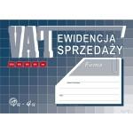 Ewidencja VAT sprzedazy A5 N! MICHALCZYK I PROKOP offset Vu04