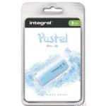 Pamięć USB INTEGRAL 8GB USB 2,0 blue sky INFD8GBPASBLS