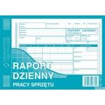Raport dzienny pracy sprzętu MICHALCZYK I PROKOP A5 80 kartek