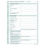 Formularz przyjęcia odpadów metali MICHALCZYK I PROKOP A5 80 kartek