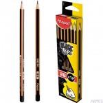 Ołówek drewniany Blackpeps 2B MAPED 85002+B50:B602