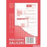 Rozliczenie zaliczki MICHALCZYK I PROKOP A6 40 kartek
