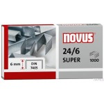 Zszywki 24/6 DIN SUPER x1000 NOVUS