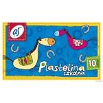 Plastelina szkolna'AS' 10kol. ASTRA