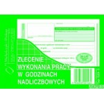 Zlecenie wykonania pracy MICHALCZYK I PROKOP A6 40 kartek