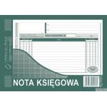 416-3 NK Nota księgowa A5 o+ko