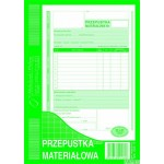 Przepustka materiałowa MICHALCZYK I PROKOP A5 80 kartek