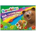 Blok tech.kolor BAMBINO A4 10kartek STANDARD
