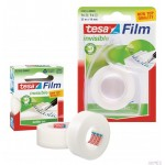 Taśma biurowa TESAfilm Invisible 33m X19mm + Dyspenser Easy Cut 57414-00005