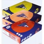 Papier xero kolorowy A4 KANARKOWY 80G karton- 5 ryz