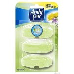 Zapas do WC AMBI PUR Flush 3 sztuki x 55ml Fresh gardens 1001057 *60618