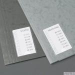 Samoprzylepne kieszenie na etykiety 3L 35x75 mm