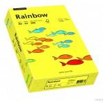 Papier xero kolorowy Rainbow słoneczno żółty 14