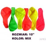 Balony 10 NEON MIX (100) KW TRADE 170-1604