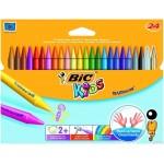 Kredki BIC świecowe Plastidecor Pudełko 24