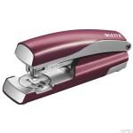 Zszywacz średni metalowy Leitz NeXXt Series Style do 30k Rubinowa czerwień