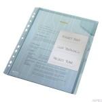 Folder LEITZ Combifile, z przekładkami, niebieski, folia 3