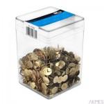 Pinezka złota (750) 1280 E&D PLASTIC plastikowe pudełko