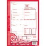 CMR międzynarodowy list przewozowy MICHALCZYK I PROKOP A4 78 kartek