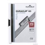 Skoroszyt DURABLE DURACLIP® Original 60 biały