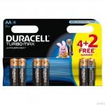Bateria Turbo AA/LR6 K4+2 DURACELL