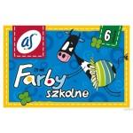 Farby szkolne 'AS' 6kol.A'20ml AST