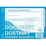 301-3 Dokument dostawy wyrobów węglowych (o+1k) A5