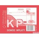 401-5 KP Dowód Wpłaty MICHALCZYK&PROKOP A6 80 kartek