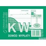 402-5 KW Dowód Wpłaty MICHALCZYK&PROKOP A6 80 kartek