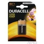 Bateria Basic 9V K1 DURACELL 4520117 *7225
