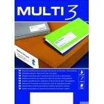 Etykiety samoprzylepne MULTI 3 48,5x25,4 44szt 100ark