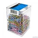 Spinacz zebra-28 (300) 6060 E&D PLASTIC plastikowe pudełko