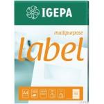 Etykieta samoprzylepna 105,0X35,0 IGEPA