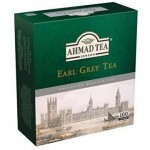 AHMAD TEA Herbata czarna ekspresowa Earl Grey 100 t