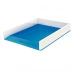 Półka na dokumenty LEITZ WOW dwukolorowa, niebieska